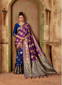 Tempting Fancy Designer Traditional Saree