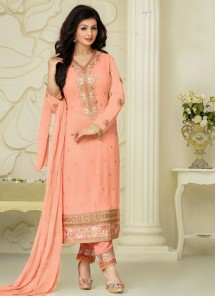 Zesty Georgette Designer Suit